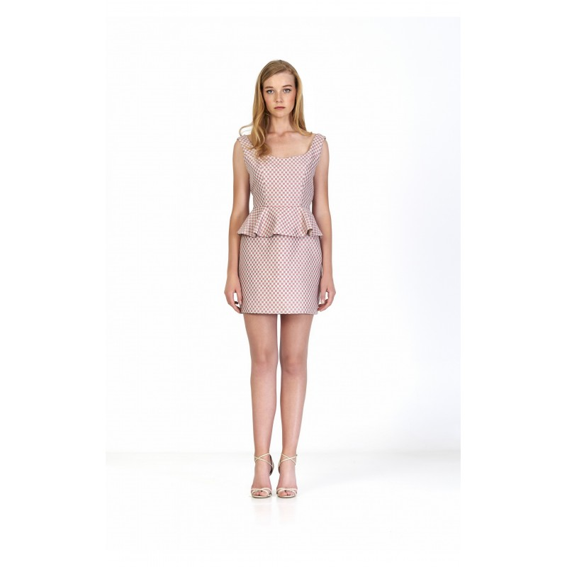 Maru Atelier Vestido Arlette Rosa