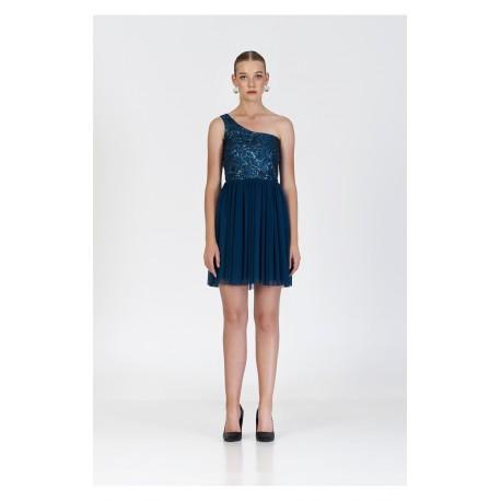 Maru Atelier Vestido Arabel Azul