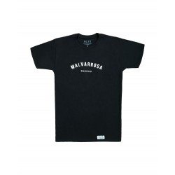 Camiseta Malvarrosa Beach Club Negra, a la venta en El Miracle tienda Valencia.