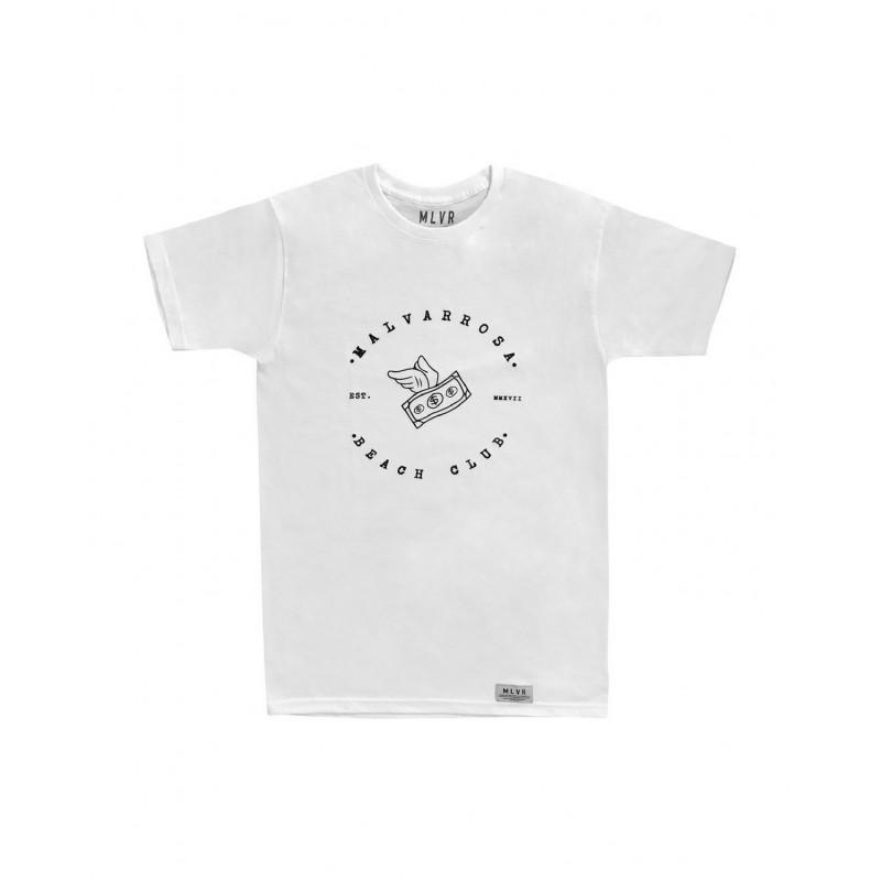 Camiseta Malvarrosa Beach Club Dollar Wings, a la venta en El Miracle tienda Valencia.