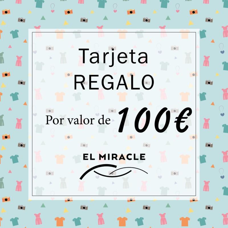 Tarjeta regalo de 100€ El Miracle