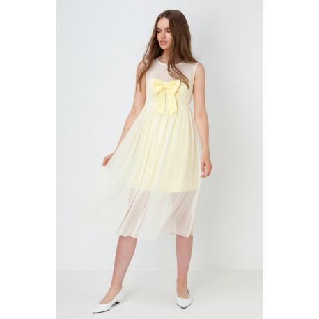 Vestido Luisa amarillo Maru Atelier  a la venta en El Miracle Tienda Valencia