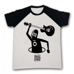 Camiseta guitarra, para chico de David de Limón, a la venta en El Miracle tienda Valencia.