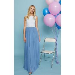 Vestido Bailarina Azul Maru Atelier  a la venta en El Miracle Tienda Boutique Valencia