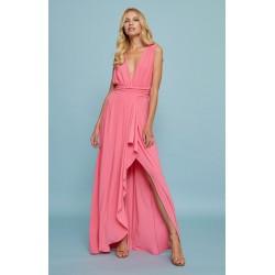 Vestido Luna Maru Atelier en rosa, a la venta en El Miracle Tienda Boutique en Valencia.