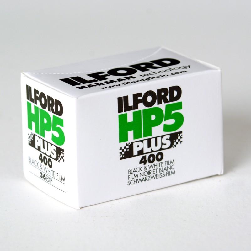 Carrete Ilford de 35mm negativo, en blanco y negro de 400 iso a la venta en tienda El Miracle de Valencia.