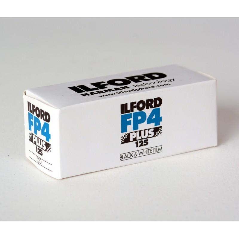 Rollo Ilford de 120mm negativo, en blanco y negro de 125 iso a la venta en tienda El Miracle de Valencia.
