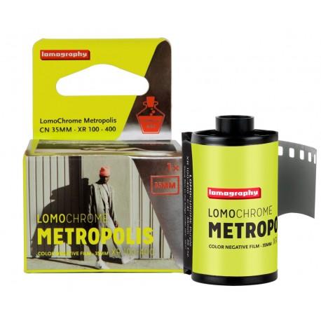 Carrete Lomochrome Metropolis de 35mm ISO 400 de Lomography. 36 exposiciones. Tienda fotografia Valencia.