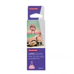 Carrete Purple de 110mm ISO 100-400 de Lomography 24 exposiciones Tienda fotografia Valencia.