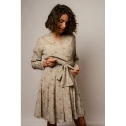Vestido vintage proveniente de stocks de fábrica modificado. Colección de El Miracle. Tienda en Valencia