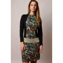 Vestido handmade modelo Margot de Copernia , a la venta en El Miracle, tienda boutique en Valencia.