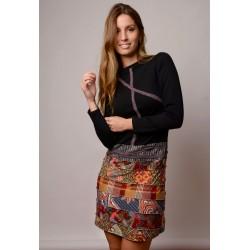 Vestido handmade modelo Florencia de Copernia , a la venta en El Miracle, tienda boutique en Valencia.