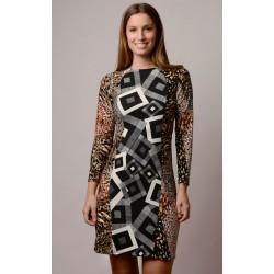 Vestido handmade modelo Wanda de Copernia , a la venta en El Miracle, tienda boutique en Valencia.