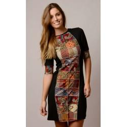 Vestido handmade modelo Miranda de Copernia , a la venta en El Miracle, tienda boutique en Valencia.