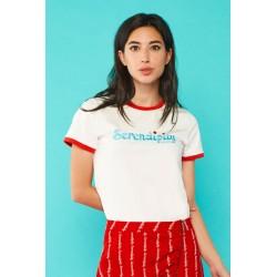Camiseta Serendipia, de Minueto, a la venta en El Miracle ,  tienda boutique en Valencia.