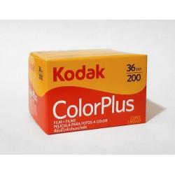Carrete Kodacolor de 35mm ISO 200 de 36 exposiciones. Tienda fotografia Valencia.