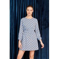 Vestido Evely dress con topos de Minueto , a la venta en El Miracle , tienda boutique en Valencia.