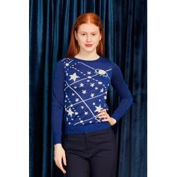 Suéter Galaxia, de Minueto, a la venta en El Miracle , tienda boutique en Valencia.