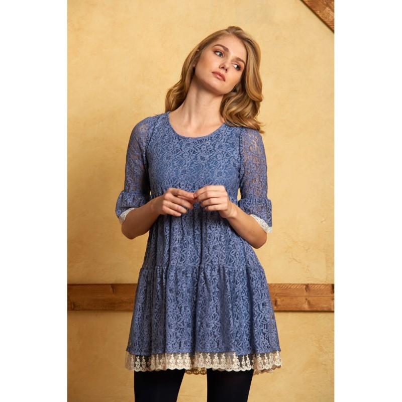 Maggie Sweet Vestido Aitana Azul